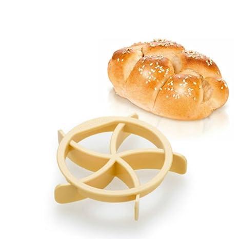 Distinct® caseras panecillos de molde para pan Kaiser línea molde cocina pastelería herramientas