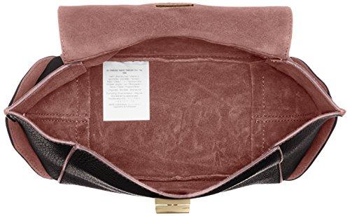 Trussardi jeans 76b245 borsa a mano donna nero rosa 19 cm comprar