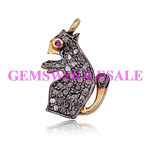 Christmas sale pave diamond rabbit and squirrel charms pave diamond christmas sale pave diamond rabbit and squirrel charms pave diamond rabbit and squirrel pendant aloadofball Image collections