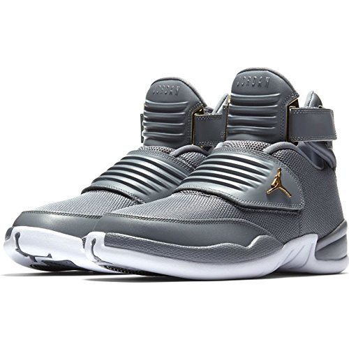 best service f86c8 093de Jordan Nike Air Men s Generation 23 Basketball Shoes (9, Cool Grey White)