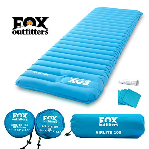 Fox Outfitters Airlite Sleeping Pad for Camping,...