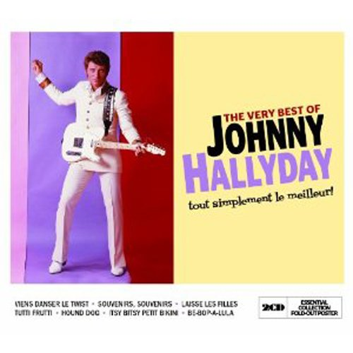 THE VERY BEST OF JOHNNY HALLYDAY(2CD) (Best Of Johnny Hallyday)