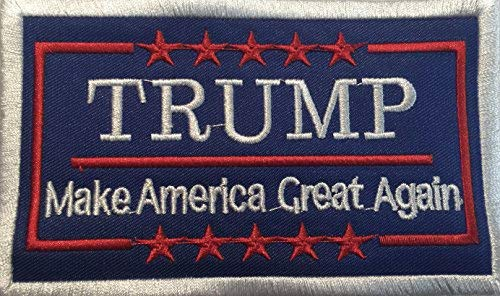 Libbie Collection - President Donald Trump Make America Great Again 2 1/2 x 4 Inch Collectable Patch USA RARE!