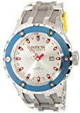 "Invicta 10970 Reserve Men's Specialty Subaqua Grey ""Puppy Edition"" Swiss Made Quartz Silicone Strap Watch"