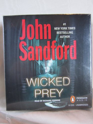Wicked Prey by John Sandford Unabridged CD Audiobook (The Prey Series Lucas Davenport) by Penguin audio