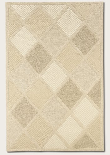 Couristan Indo Natural (Couristan 2150/9600 Super Indo-Natural Astra/White 8-Feet by 11-Feet Rug)