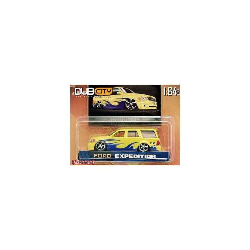 Jada Dub City Yellow Ford Expedition 164 Scale Die Cast Truck