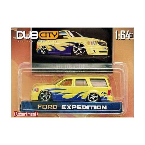 Jada Dub City Yellow Ford Expedition 1:64 Scale Die Cast -