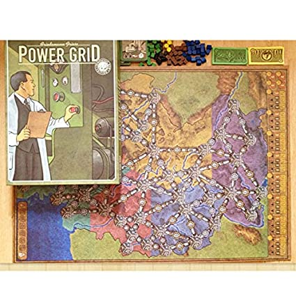 Buy Cyril Power Grid Board Game English Verison Cards Game ...