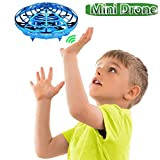Mini Drones for Kids, Jresboen [Updated] UFO Flying Toys Hand Controlled Flying Ball Drone Helicopter Toys for Kids, Mini Quadcopter Drone Induction Aircraft Flying Saucer Toy for Boys Girls