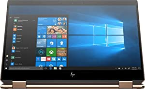 2019 HP Spectre x360 15t Touch 4K IPS AMOLED GTX 1650 with 6 core(9th Gen Intel i7 9750H, 1TB SSD, 16GB, 2-in-1, 3 Years McAfee Internet Security, Windows 10 PRO Upgrade, Worldwide Warranty) Dark Ash