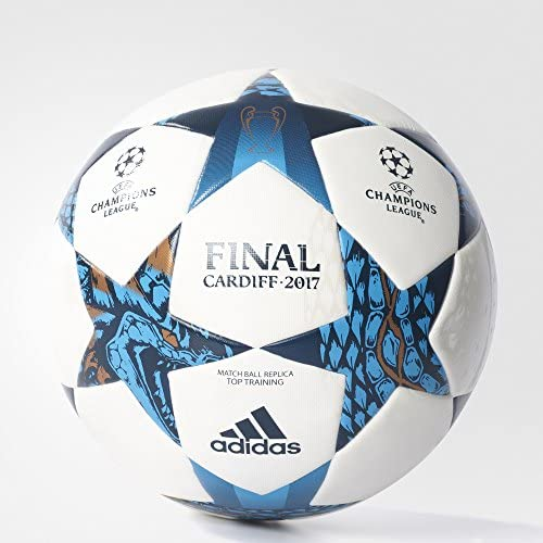 adidas Top Balón Final Cardiff 2017, Hombre, Blanco, 5: Amazon.es ...