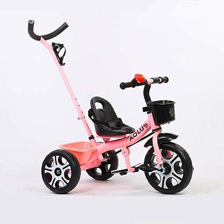 Xhhxiao Carro de Tres Ruedas for niños, Bicicleta de 1 a 3 años de ...