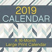 Large Print 2019 Calendar