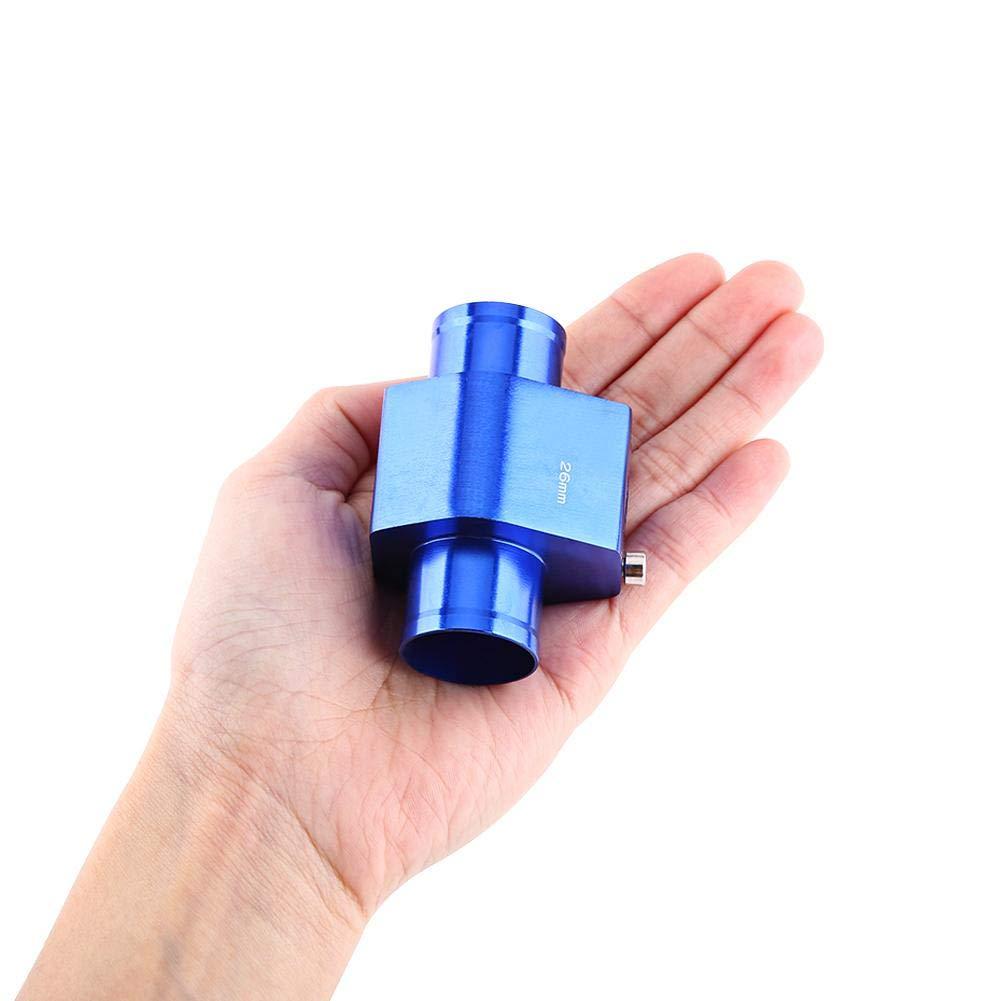 26 mm-40 mm VGEBY1 Coche Moto Temperatura del Agua Junta Universal Fit Tubo de Metal Manguera Sensor de Temperatura Medidor Adaptador de Manguera del radiador con Abrazaderas