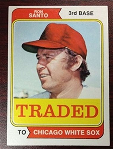 1974 Topps Traded Chicago White Sox 270T Ron Santo 1 Card Team Set