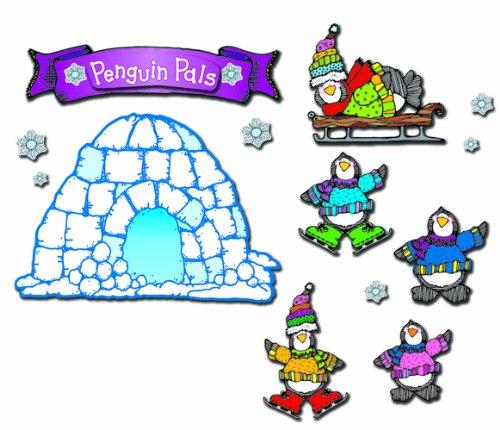 - Carson Dellosa D.J. Inkers Penguin Pals Bulletin Board Set (610027)
