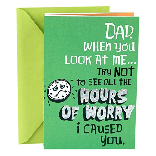 Hallmark Funny Father's Day Greeting Card for Dad (I've Been a Character Builder)
