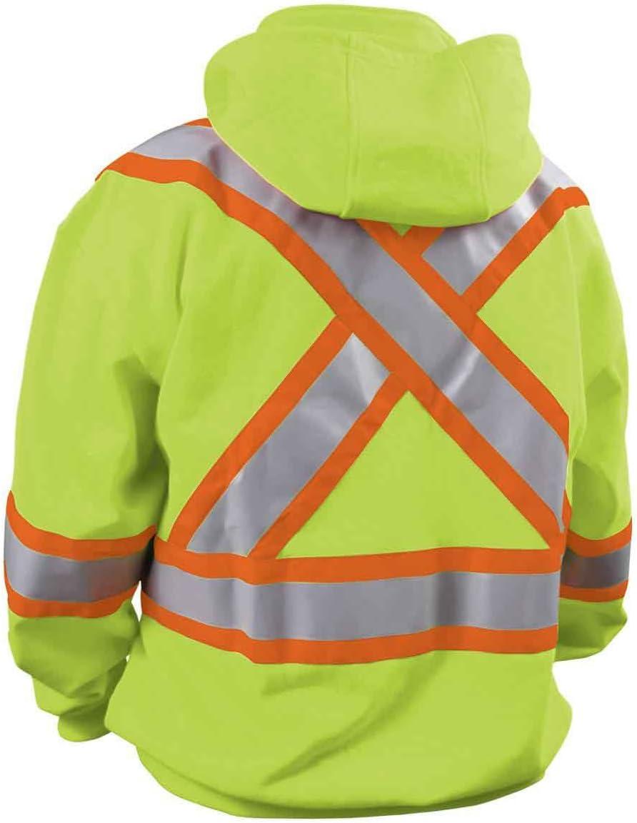 Black Stallion JF1332-OR TRUGUARD 200 FR Hooded Sweatshirt Orange X-Large
