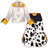 Jessie Costume Toy Story 3 Girls Small 5 / 6 dress Disney Cowgirl