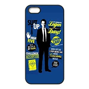 Fashion How i met your mother Personalized iPhone 5 5S Rubber Silicone Case Cover