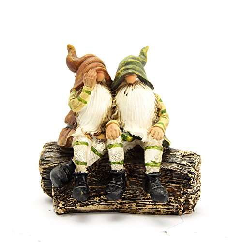 A Couple of Lovely Garden Gnomes Cute Female and Male Gnome Unique Garden Decoration