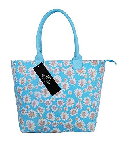 Handbag nbsp; per Shopper stile Shoulder da Borse spiaggia Borsa ideale Borsa Shopping vacanze borse Tela w6UxvBFInq
