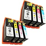 8pk for Lexmark 150 Xl Ink Cartridge S315 Pro715 Pro 915 High Quality by PRITOP