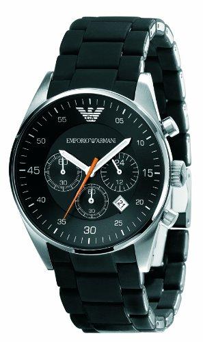 Emporio Armani Sportivo - Reloj (Reloj de pulsera, Masculino, Acero inoxidable, Acero