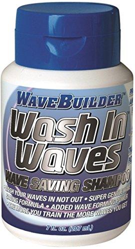 (WaveBuilder Wash In Waves Shampoo, 7 oz (Pack of 5))
