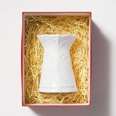 Vietri Incanto Lace Small Vase