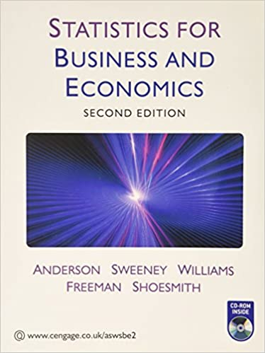 Statistics for business and economics amazon david r statistics for business and economics amazon david r anderson dennis j sweeney thomas a williams jim freeman eddie shoesmith 9781408018101 fandeluxe Images