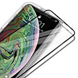 """UNBREAKcable iPhone Xs Max Full Coverage Screen Protector - [Easy Installation Frame] Double Defence Tempered Glass Screen Protector for 6.5"""" iPhone Xs Max (2018)"""