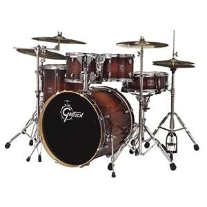 gretsch brt e8256 catalina birch five piece euro drum kit walnut burst musical. Black Bedroom Furniture Sets. Home Design Ideas