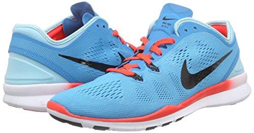 Crimson Tr 0 Fit bright Lagoon blue 5 Azul Nike copa Free 5 black Zapatillas Mujer URqx7
