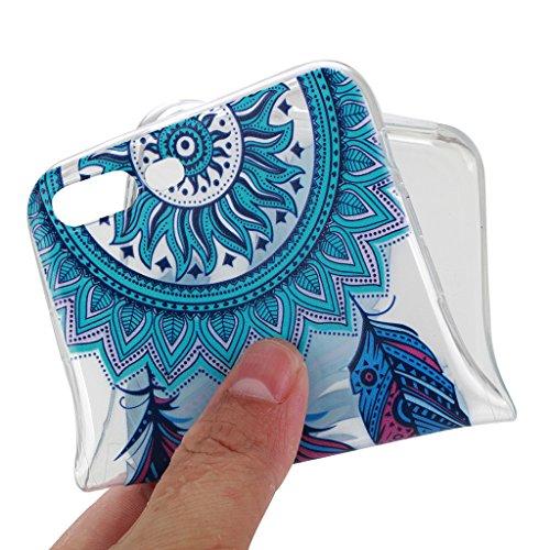 iPhone 7 Plus Cover , YIGA Moda Trasparente Cacciatore Di Sogni Silicone Morbido TPU Case Custodia per Apple iPhone 7 Plus 5.5