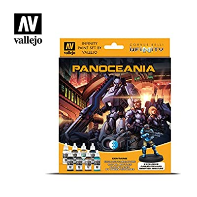 Model Color Set: Infinity Panoceania Exclusive Miniature: Toys & Games