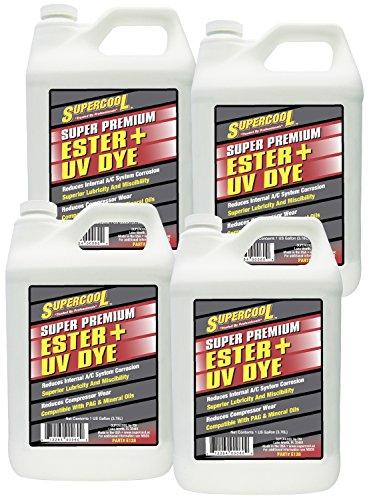 TSI Supercool E128-4CP Ester Oil Plus U/V Dye - 1 gallon, 4 Pack by TSI Supercool