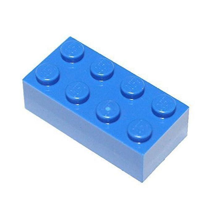 10 PINK 1x2 Standard Brick Bricks  ~ Lego  ~ NEW