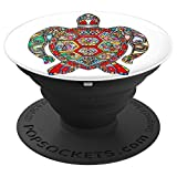 Artsy Sea Turtle - PopSockets Grip and Stand for Phones and Tablets