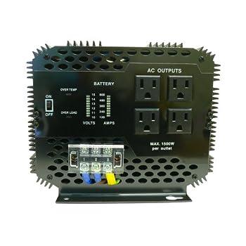 Wagan EL2012 5,000-Watt Continuous Power Inverter