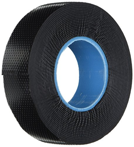 0.8mm x 24mm x 5m Self Adhesive Rubber Insulating Seal Tape Black