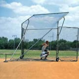 SSG SANDLOT PORTABLE BASEBALL/SOFTBALL BACKSTOP 15' X 11' X 6'