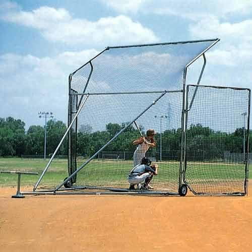 SSG SANDLOT PORTABLE BASEBALL/SOFTBALL BACKSTOP 15' X 11' X 6' by Sport Supply Group
