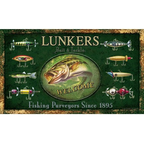 Lunkers Bait & Tackle Welcome mat