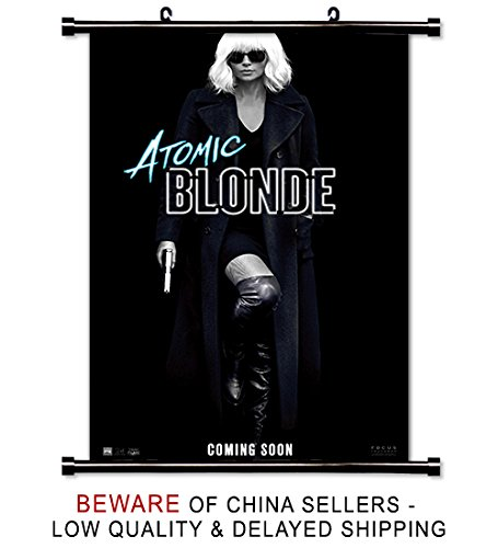 Atomic Blonde Movie Wall Scroll Poster