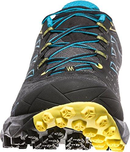 La Sportiva Mutant Kvinners Trail Joggesko - Ss18 Akyra Karbon / Tropisk Blå Talla: 44