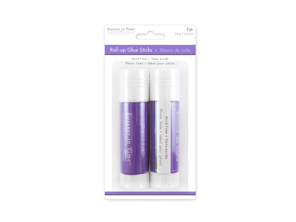 Forever in Time 25gm Roll-Up Glue Sticks for Scrapbook