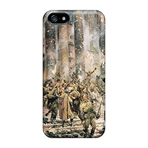 linJUN FENGTpu Shockproof/dirt-proof After World War By My Friend David Max Cover Case For Iphone(5/5s)