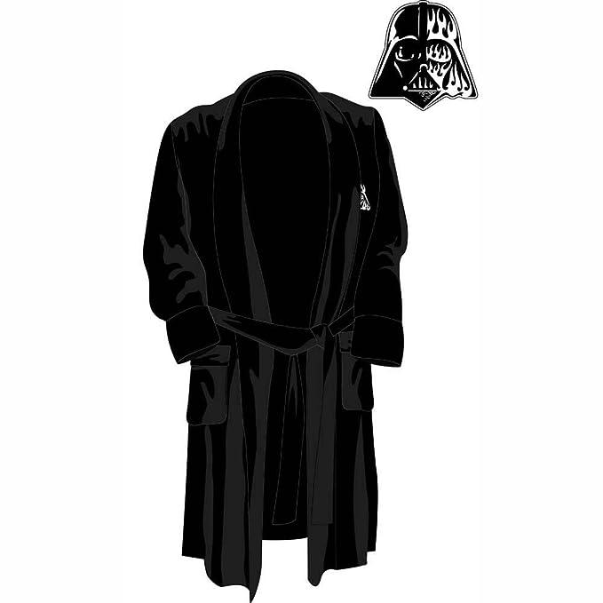 Star Wars Darth Vader Bata de Baño para Hombres Lujosa Logo de Casco ...